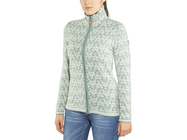 Fjällräven Snow Cardigan Women frost green